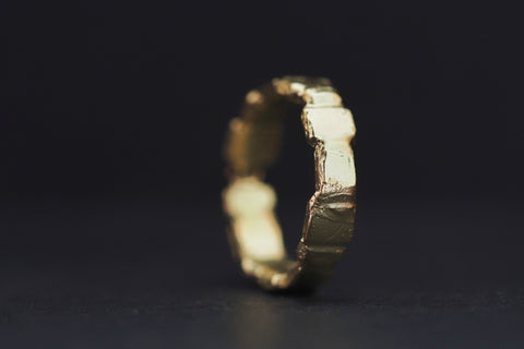 Gold Garden Path Ring