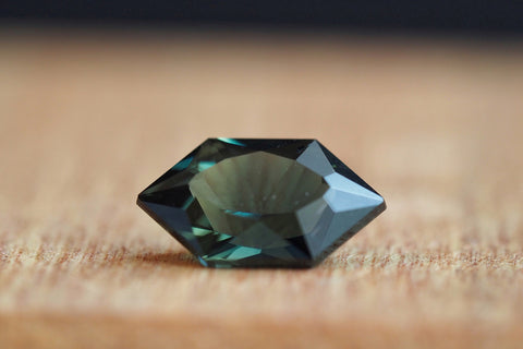 Australian Elongated Hexagonal Parti Sapphire