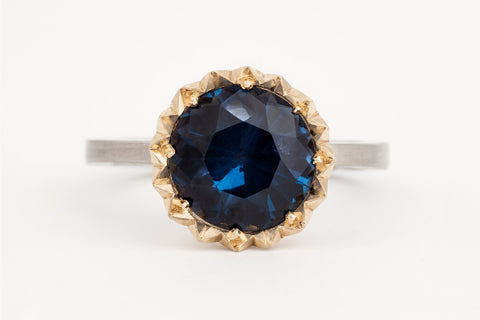 Betty Blue Spinel Solitaire