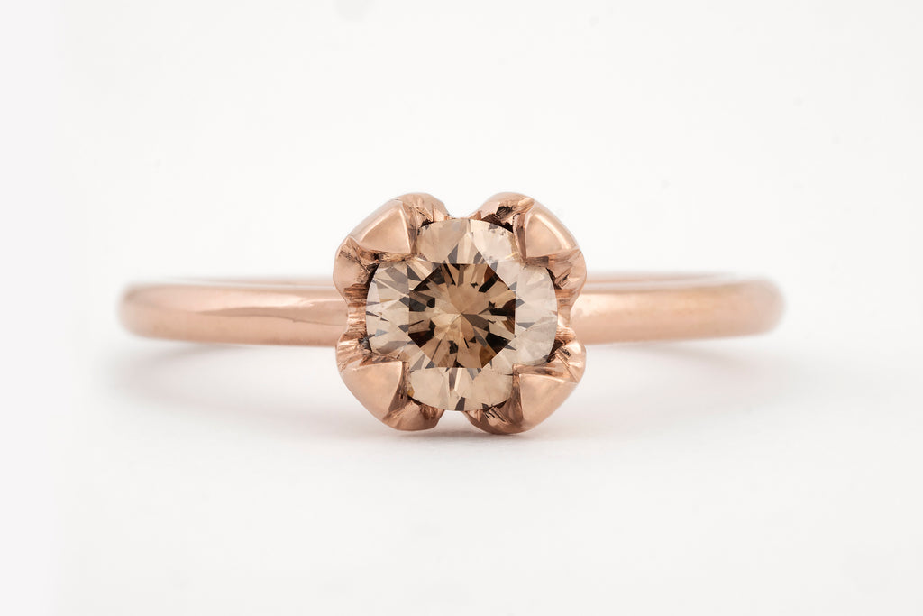Mini Jasmine Diamond Ring