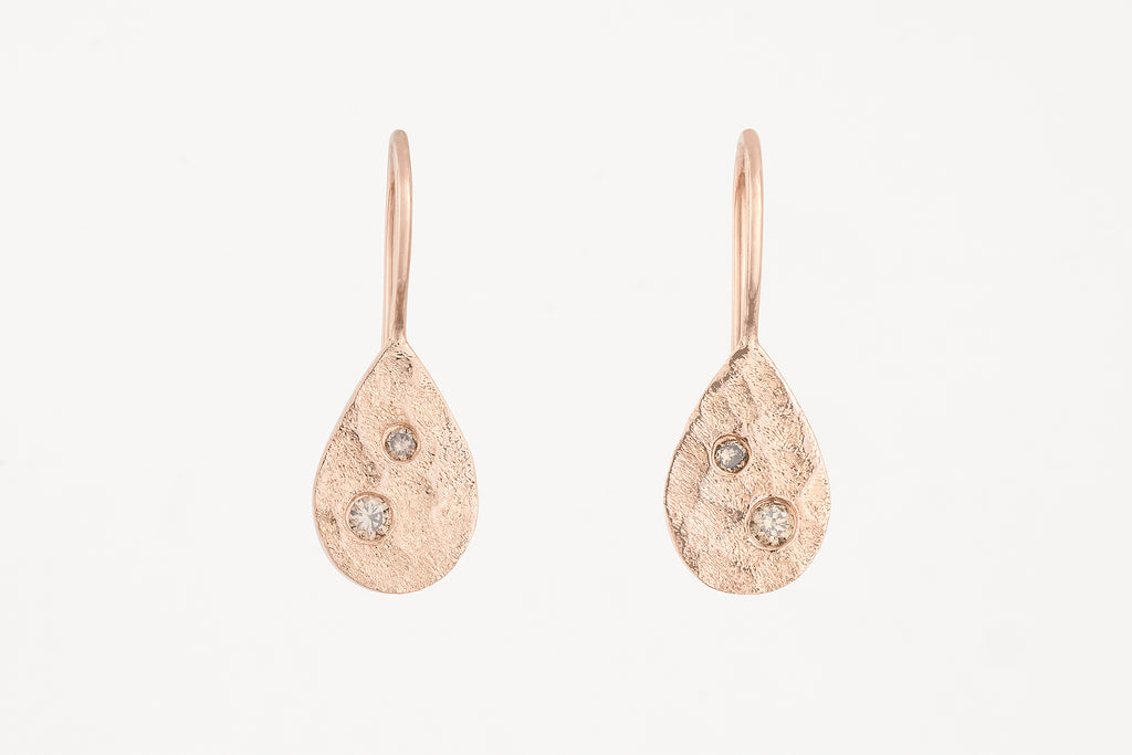 Winter Lake Diamond Earrings