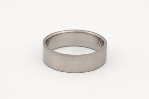 Fairtrade 18c White Gold Ring