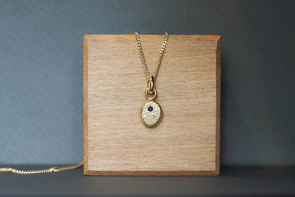 Oval Grains Necklace