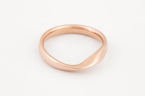 Mobius Rose Gold Ring