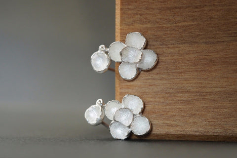 Cherish Earrings Silver