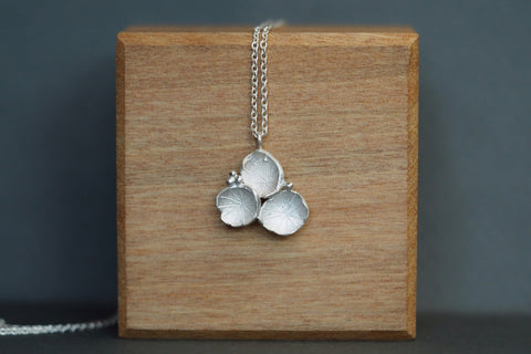 Cluster Pendant Silver