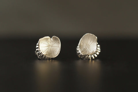 Silver Fragment Studs