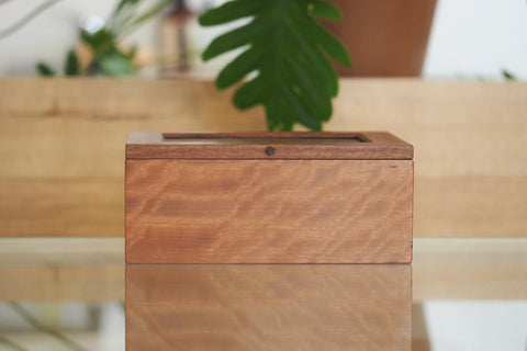 River Red Gum and Jarrah Burl Large Timber Jewellery Box