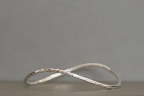 Aqueous Wave Bangle