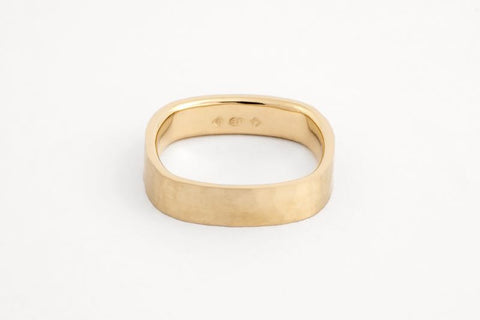 Square Ripples Ring