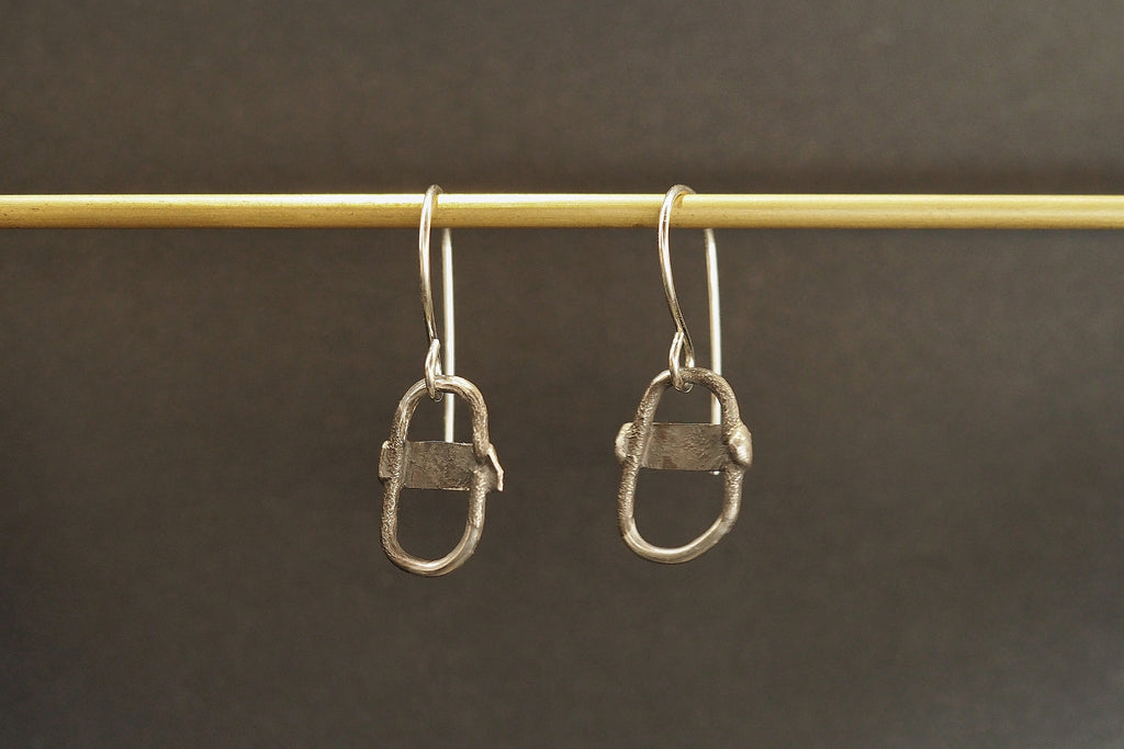 Relik Cross Link Earrings