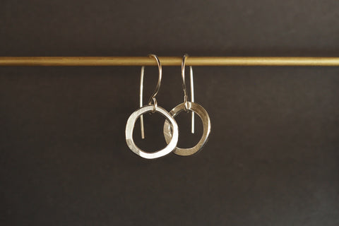 Relik Flat Circle Earrings