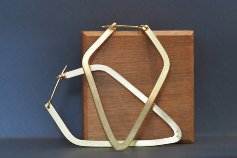 Geometrica Diamond Hoops