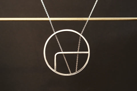 Round Outline Necklace