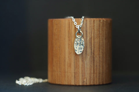 Oval Gold Artefact Necklace