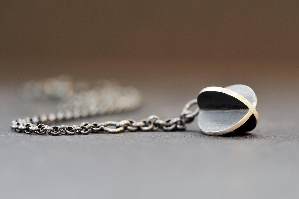 Black X-Series Orb Necklace