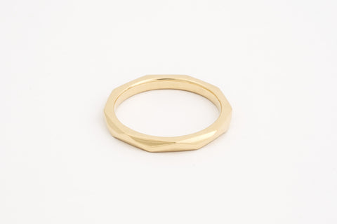 Geo Facet Ring