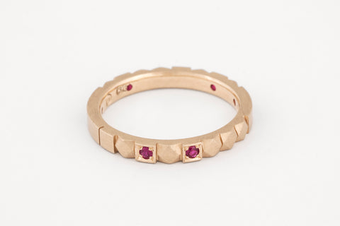Mosaico Ruby Ring