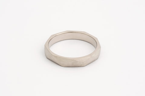 Geo Facet Men's Ring