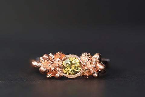 Rose Gold Shrub Ring