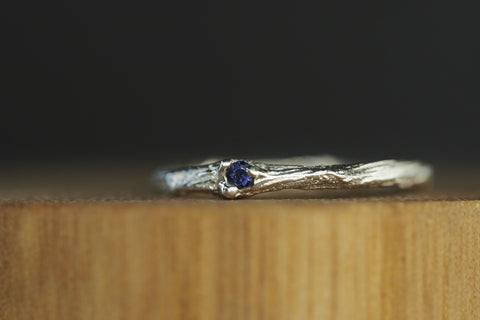 Sticks and Stones Iolite Ring