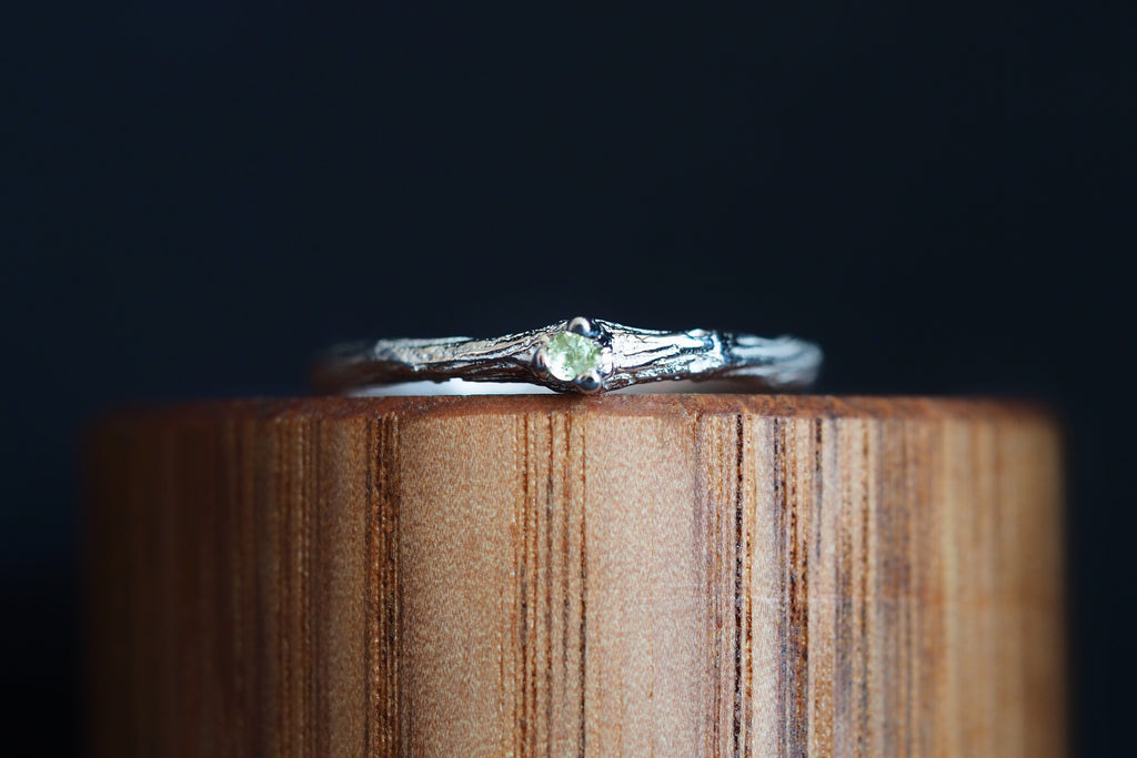 Sticks and Stones Peridot Ring