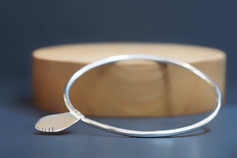 Blue Birch Bangle