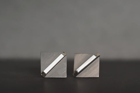 Black Square X-series Studs