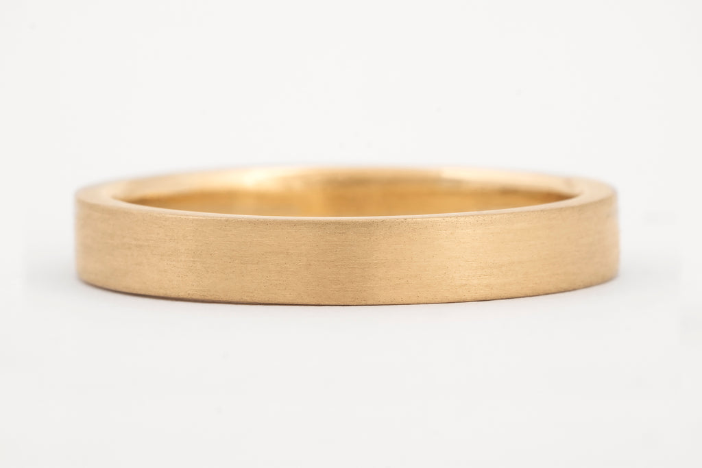 Wedding Ring, Fairtrade 18c Yellow Gold Ring