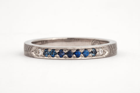 Ombre Sapphire Ring