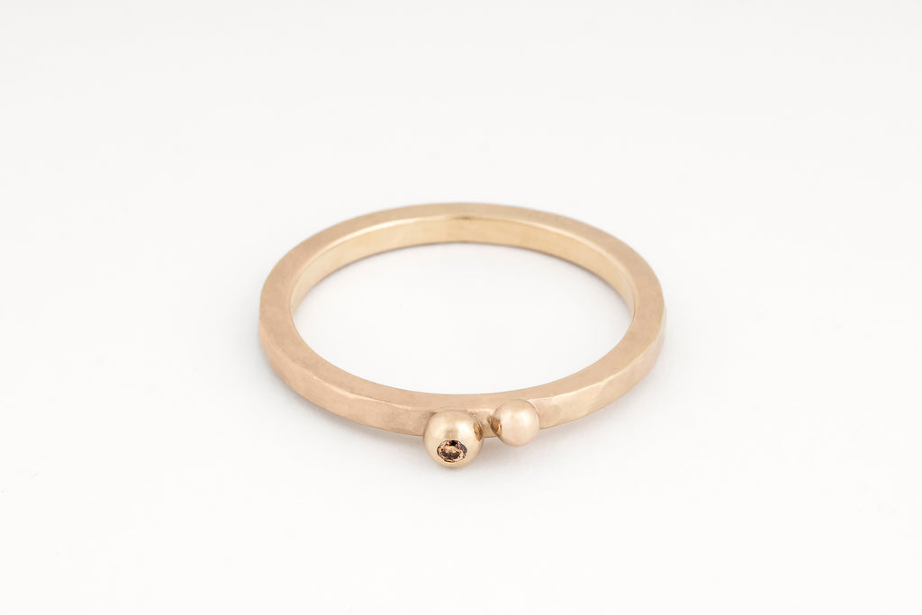 Ripples Bubble Ring, Champagne