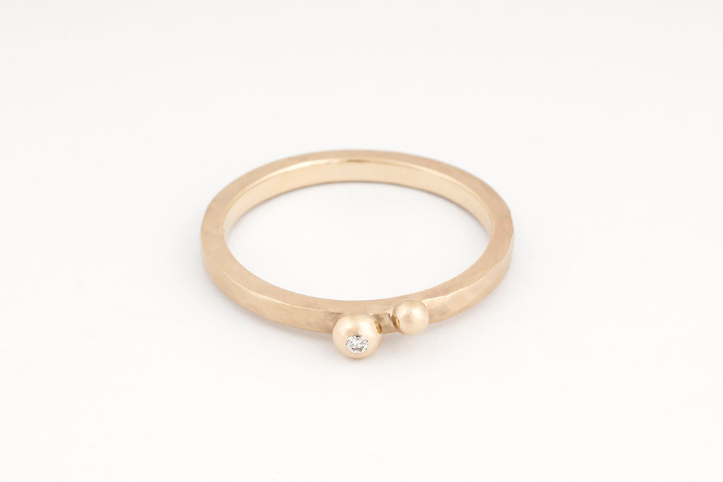Ripples Bubble Ring, White