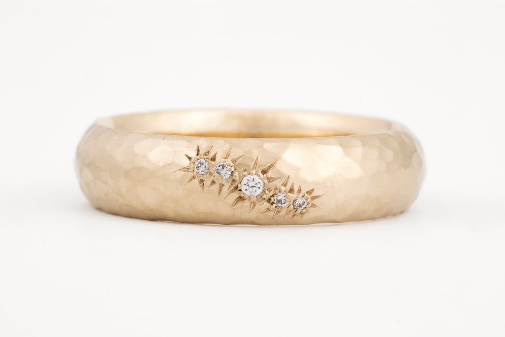 Whitecap Ripples Ring
