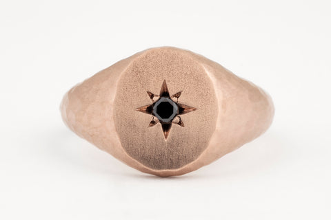 Ripples Signet Ring