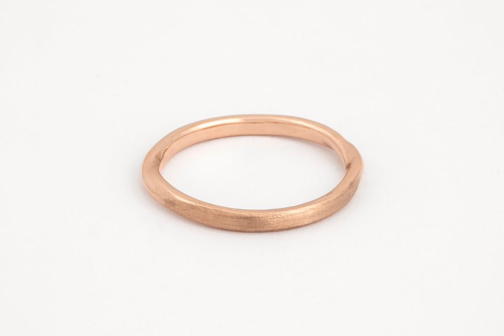 Soft Twist Ring Rose Gold