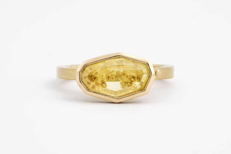 Freeform Chrysoberyl Ring