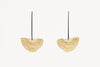 Between the Lines Earrings Gold