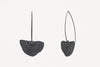 Between The Lines Earrings Black