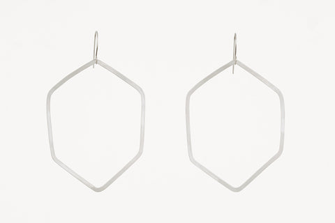 Geometrica XL Hexagon Earrings
