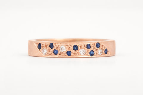 Pave' Sapphire Ring
