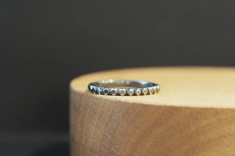 Oxidised Silver Mexicali Ring