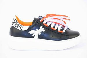 Patrizia Pepe Pepe black/orange shoes