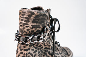Biker boot Guess leopard