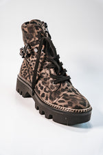 Afbeelding in Gallery-weergave laden, Biker boot Guess leopard