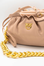Afbeelding in Gallery-weergave laden, Pinko Mini Chain Clutch Fraimed Rosa