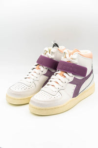 Diadora Mi Basket Mid Icona Sneaker white/nirvana/evening
