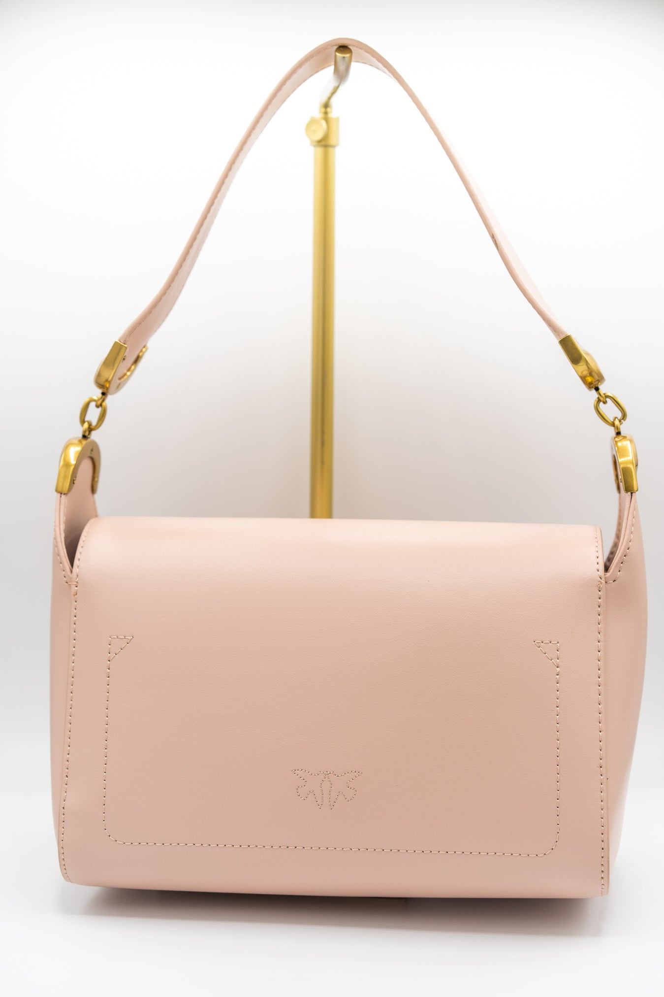 Pinko Love Shoulder bag Simple Dusty Rose