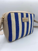 Afbeelding in Gallery-weergave laden, Liu Jo Crossbody Stupenda Blue Stripes