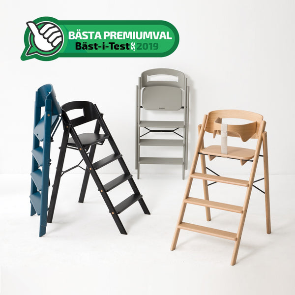KAOS Klapp wins best premium highchair