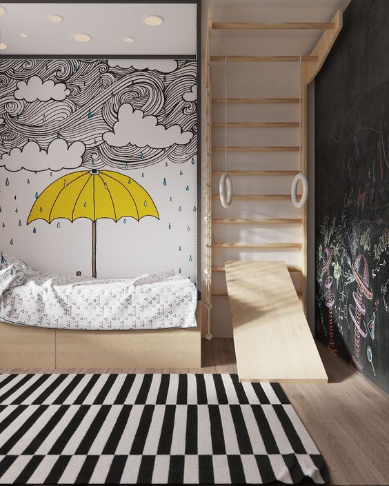Scandinavian Style Kids Room